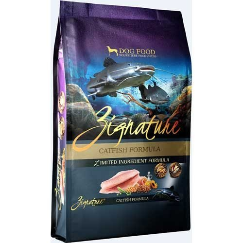 Zignature Limited Ingredient Grain Free Catfish Dog Food 4 lb