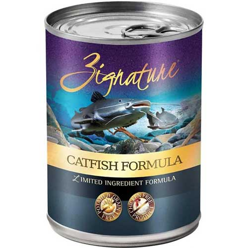 Zignature Limited Ingredient Grain Free Catfish Dog Food 13 oz