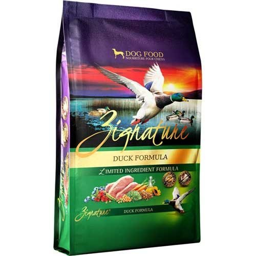 Zignature Limited Ingredient Grain Free Duck Dog Food 4 lb
