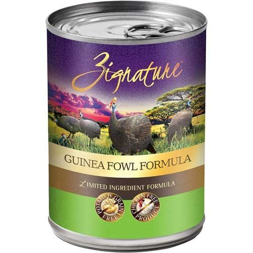 Zignature Limited Ingredient Grain Free Guinea Fowl Dog Food 13 oz