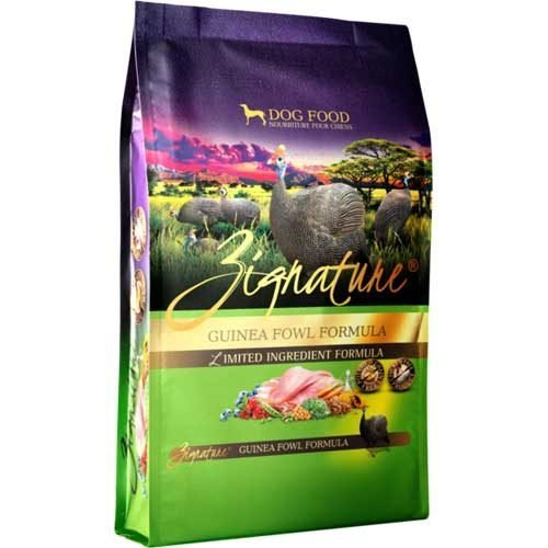 Zignature Limited Ingredient Grain Free Guinea Fowl Dog Food 4 lb
