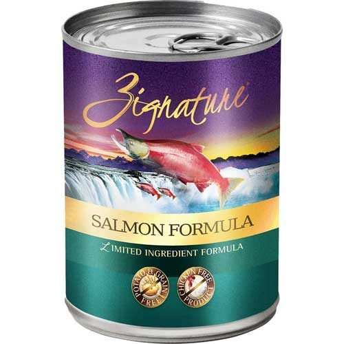 Zignature Limited Ingredient Grain Free Salmon Dog Food 13 oz