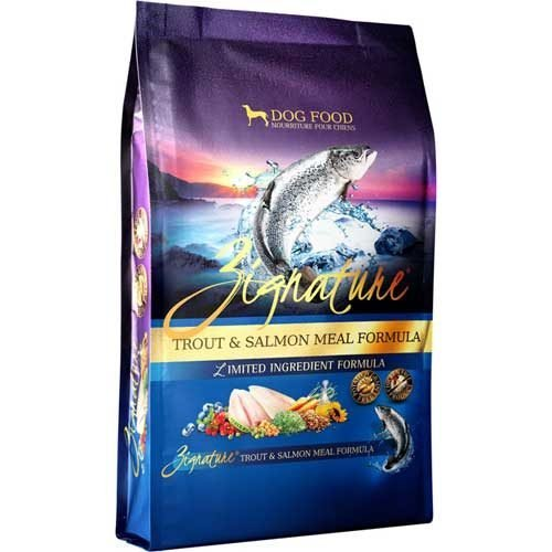 Zignature Limited Ingredient Grain Free Trout & Salmon Meal Dog Food 4 lb