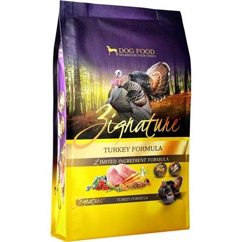 Zignature Limited Ingredient Grain Free Turkey Dog Food 4 lb