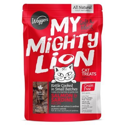 Waggers My Mighty Lion Salmon 75g