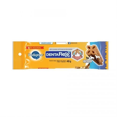 Pedigree DentaFlex Oral Care Treats for Small Dogs 40g
