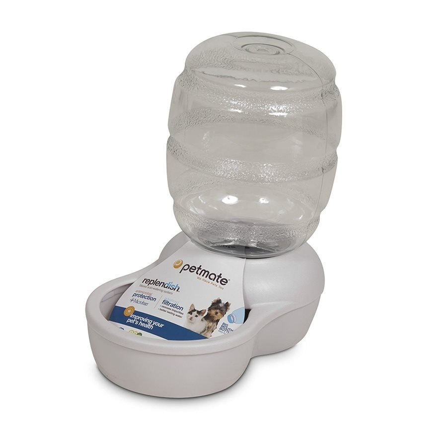 Petmate Replendish Waterer White 0.5 gal