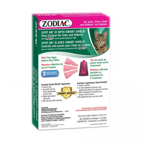 Zodiac Smart Shield Spot On II Cat/Kitten