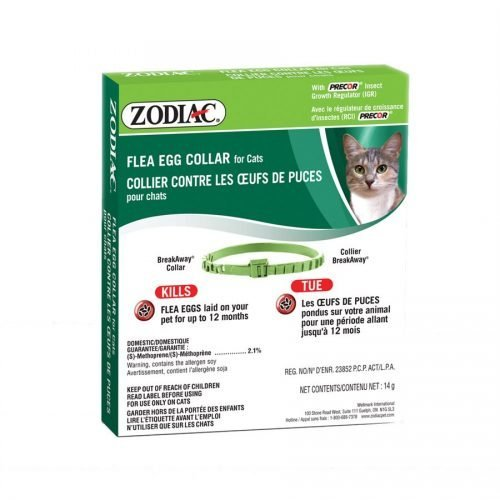 Zodiac Flea Egg Collar for Cats