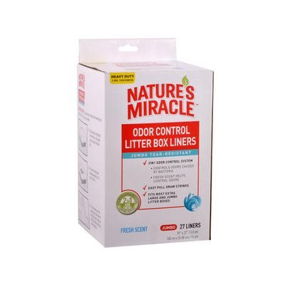 NM Litter Pan Liners Jumbo 27ct