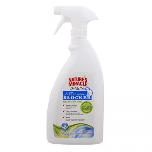 Spectrum Nature's Miracle Just for Cats Allergen Blocker Air & Surface Spray 32oz