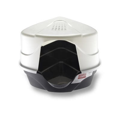 NM JFC Advanced Hooded Corner Litter Box