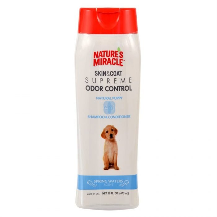 UPG Nature's Miracle Supreme Odor Control Puppy Shampoo 16oz