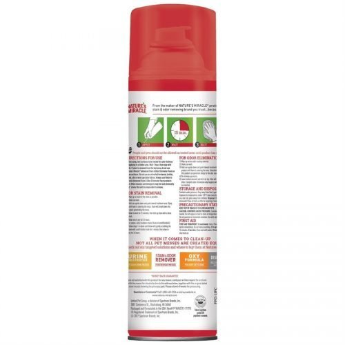 Spectrum Nature's Miracle Advanced Cat Stain & Odor Foam Aerosol 17.5oz