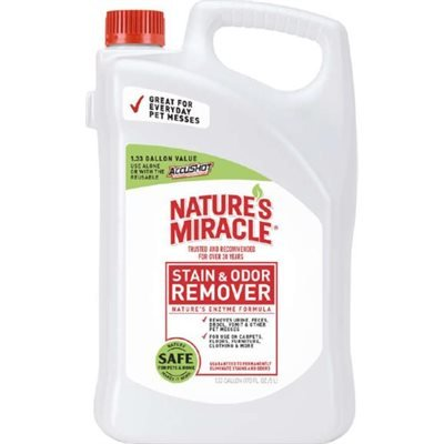 Spectrum Nature's Miracle Stain & Odor Remover 1.33 Gallon Bottle 170oz