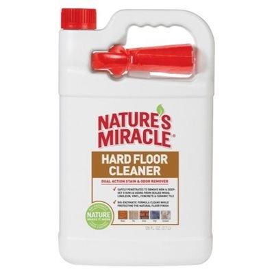 Spectrum Nature's Miracle Hard Floor Stain & Odor Remover 1 Gallon 128oz