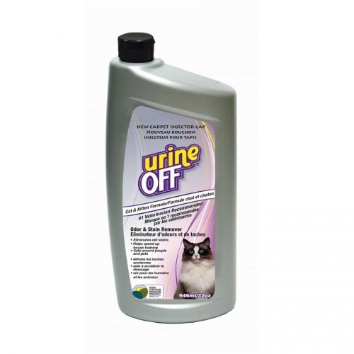 Urine Off Cat & Kitten Formula Bottle with Carpet Cap 32oz
