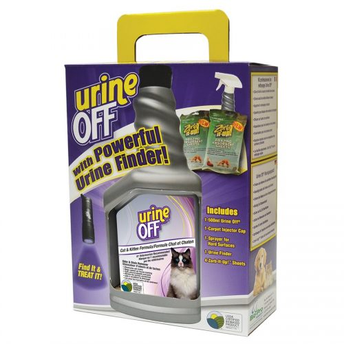 Urine Off Cat & Kitten Formula Clean Up Kit with LED Light
