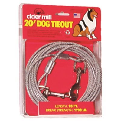 Tie Out Dog 15' Heavy
