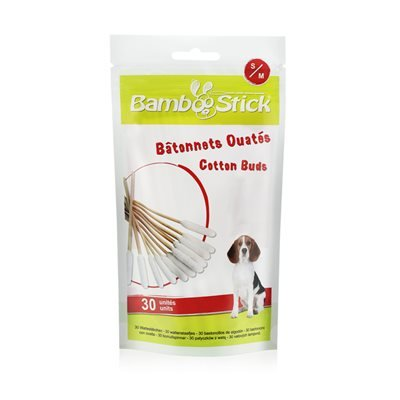 Tick Twister BambooStick Cotton Buds Small/Medium 30 Pack