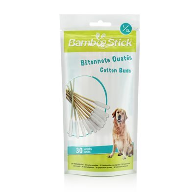 Tick Twister BambooStick Cotton Buds Large/Extra Large 30 Pack