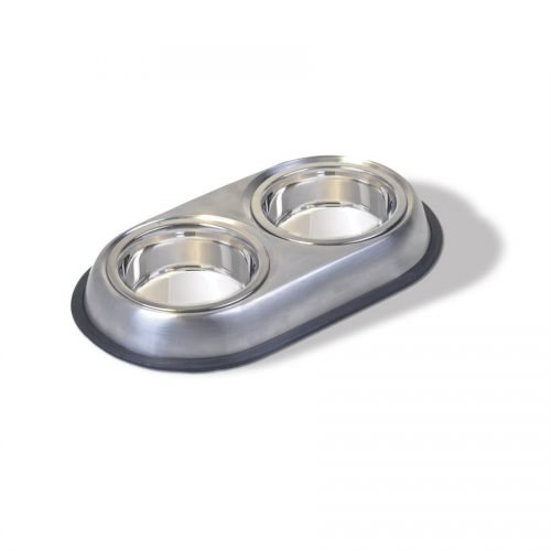 Vanness Stainless Steel Double Dish 2 x 8oz