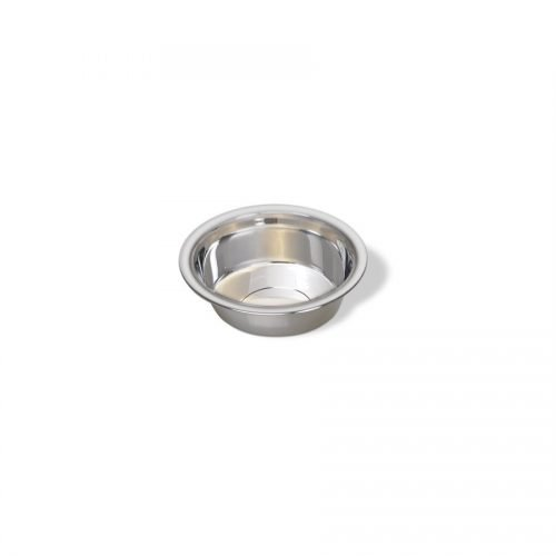 Vanness Stainless Steel Wide Rim Cat Dish 8oz