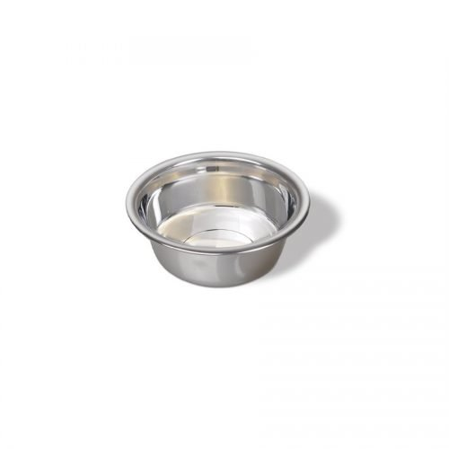 Vanness Stainless Steel Wide Rim Small Dish 16oz