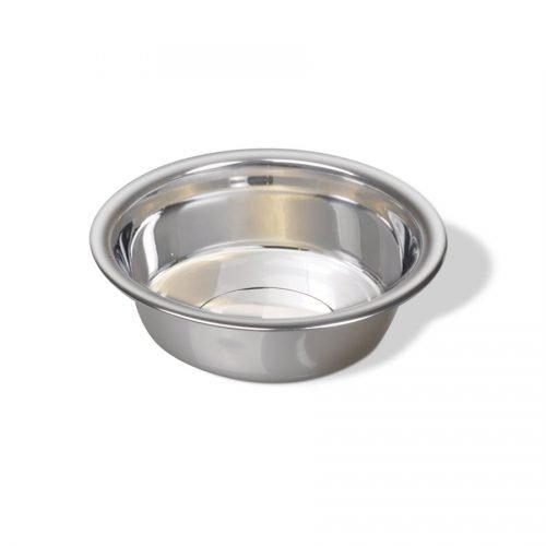 Vanness Stainless Steel Wide Rim Large Dish 64oz