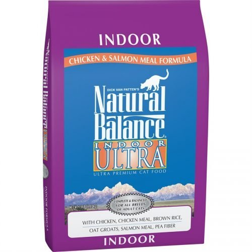 Natural Balance Cat Indoor Chicken Meal & Salmon Meal Formula 15LB