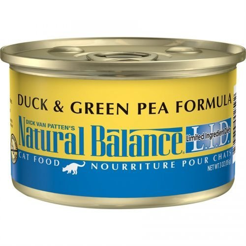 Natural Balance Cat LID Duck & Green Pea Formula Cans 24/3oz