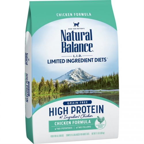 Natural Balance Cat LID High Protein Chicken Formula 11LB