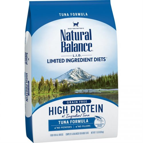 Natural Balance Cat LID High Protein Tuna Formula