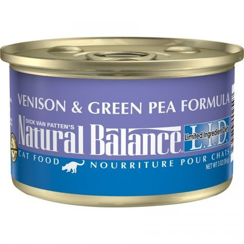 Natural Balance Cat LID Venison & Green Pea Formula Cans