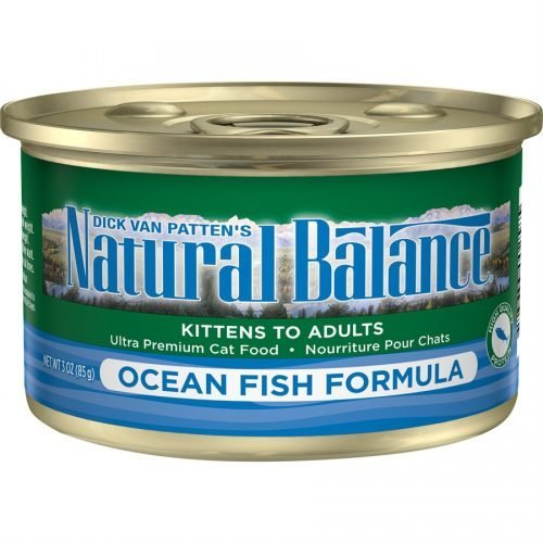 Natural Balance Cat Ocean Fish Formula Cans of 24