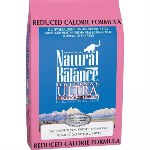Natural Balance Cat Original Reduced Calorie Formula 15LB
