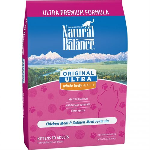 Natural Balance Cat Original Ultra Chicken Formula 15LB