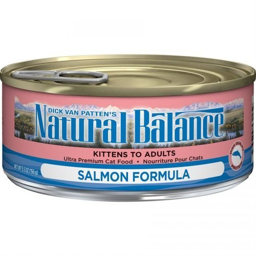 Natural Balance Cat Salmon Formula Cans 24/5.5oz