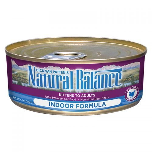 Natural Balance Cat Ultra Premium Indoor Formula 24/5.5OZ