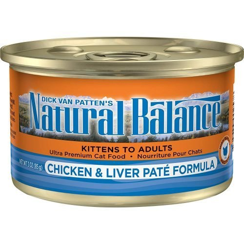 Natural Balance Chicken & Liver Paté Canned Cat Formula