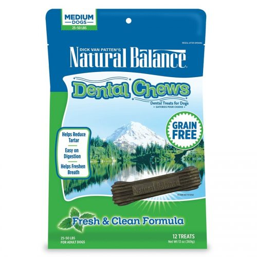 Natural Balance Dog Fresh & Clean Dental Chews 13oz