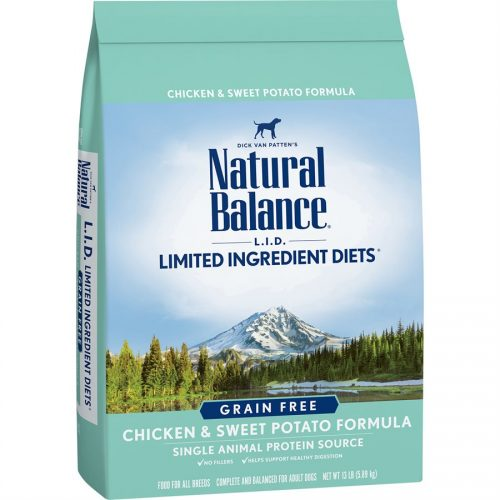 Natural Balance Dog LID Chicken & Sweet Potato Formula 13LB