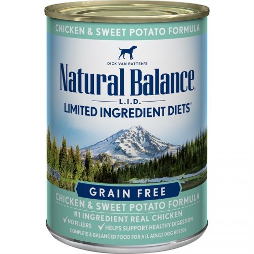Natural Balance Dog LID Chicken & Sweet Potato Formula Cans 12/13oz