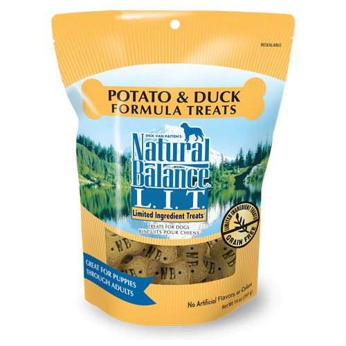 Natural Balance Dog LIT Potato & Duck Formula Treats 14oz