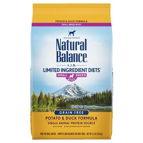 Natural Balance Dog LIT Potato & Duck Small Breed Formula Treats 8oz