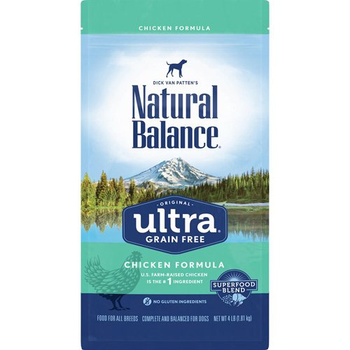 Natural Balance Dog Ultra Grain Free Chicken Formula 4LB