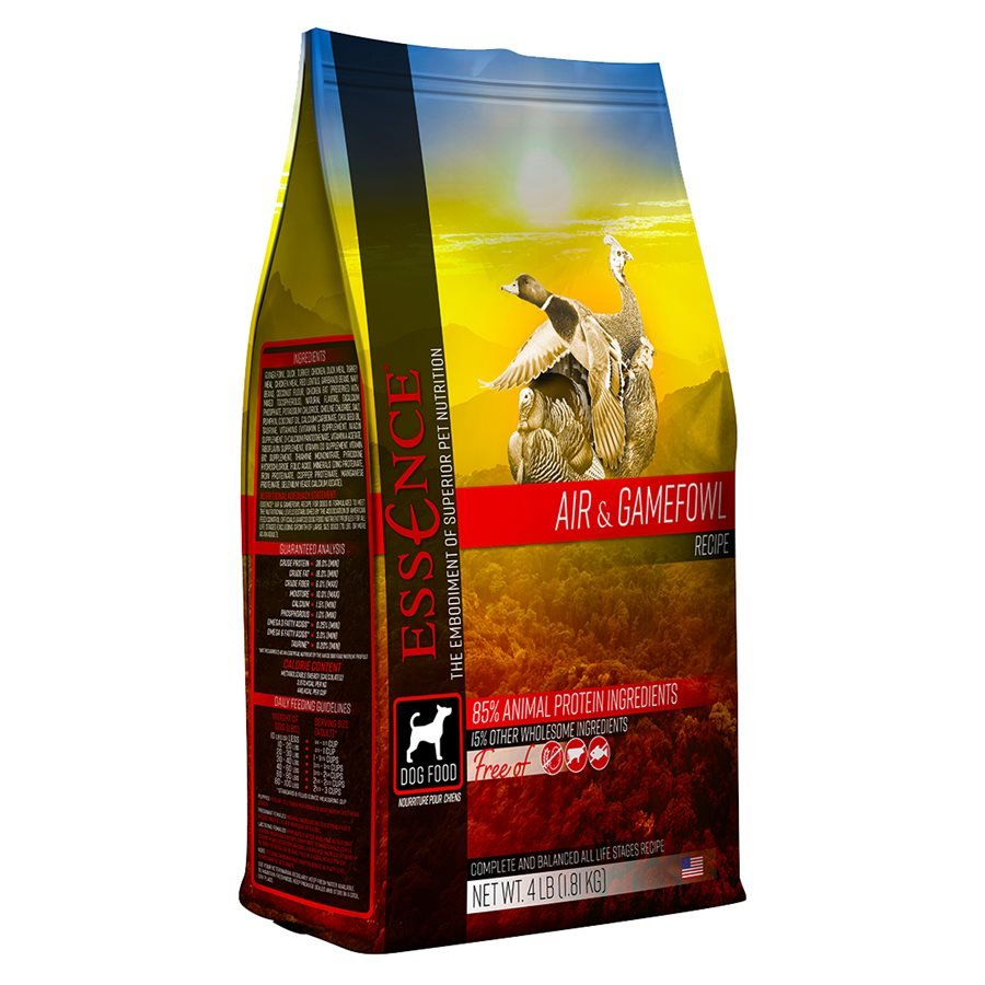 Essence High Protein Grain Free Air & Gamefowl Recipe for Dogs 12.5LB