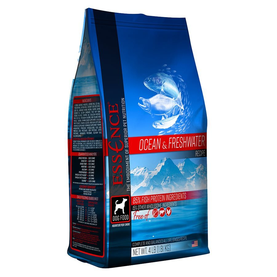 Essence High Protein Grain Free Ocean & Freshwater Recipe for Dogs