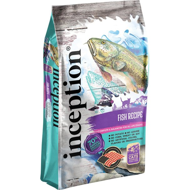 Inception Legume Free Cat Food Fish Recipe