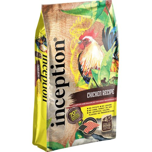 Inception Legume Free Dog Food Chicken Recipe